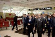 جلالة الملك يدشن المحطة الجوية 1 الجديدة لمطار محمد الخامس