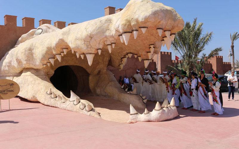 أكادير: افتتاح مكان مخصص للثعابين بحديقة (كروكوبارك ) بمنطقة سوس