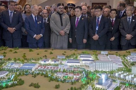 المملكة المغربية تُحدث منطقة تصدير لدعم مدينة