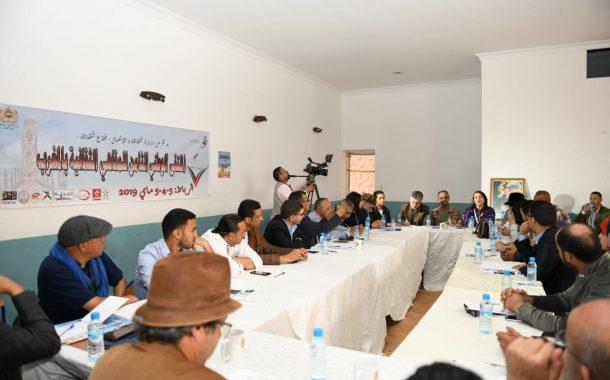 شبكة المقاهي الثقافية بالمغرب تتوج ملتقاها الوطني الثامن بعرض مسرحية