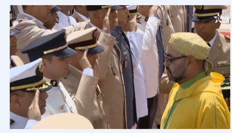 تهنئة  إلى قائدنا الأعلى صاحب الجلالة الملك محمد السادس بمناسبة الذكرى 63 لتأسيس قواتنا المسلحة الملكية