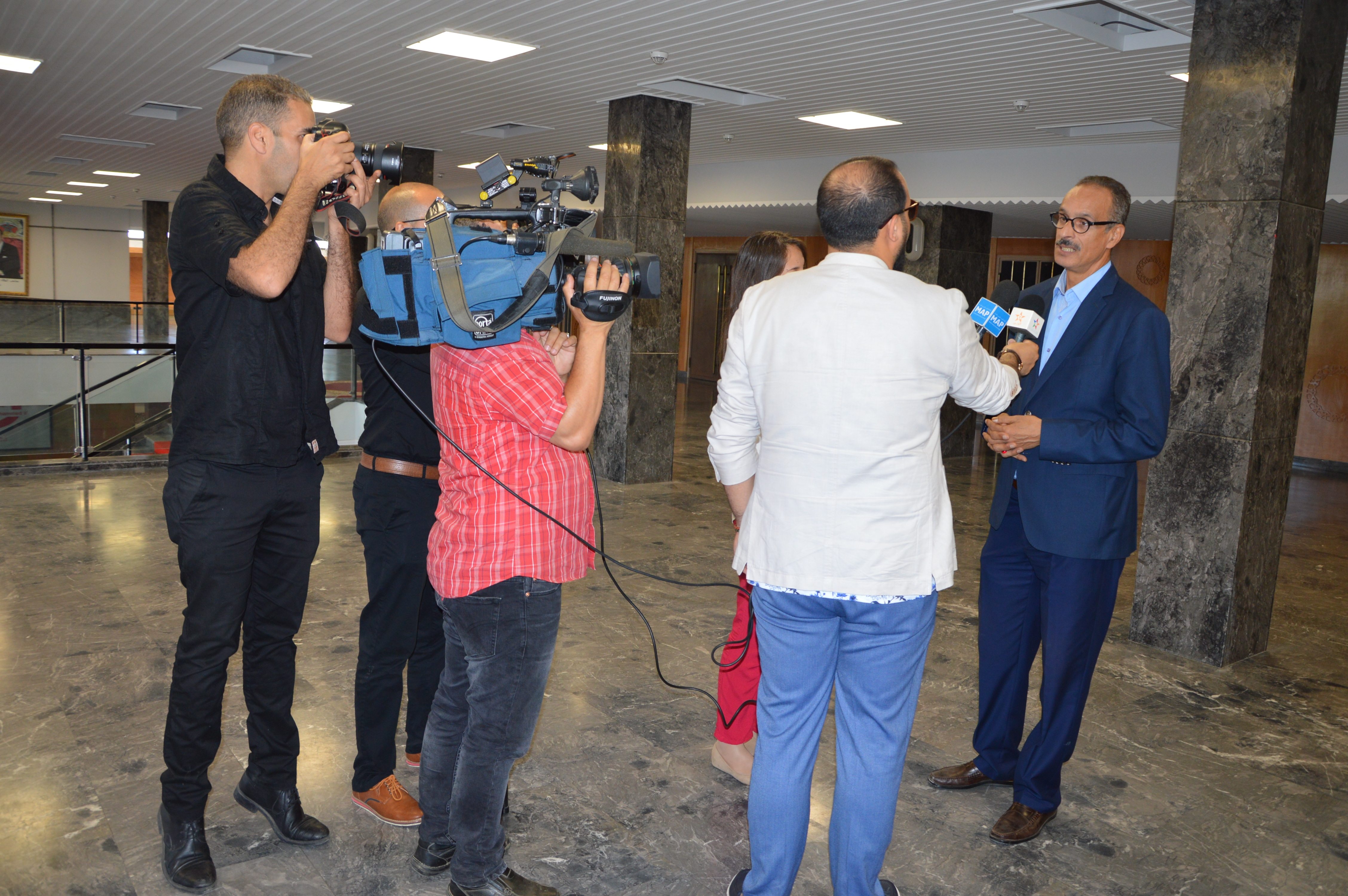 نص الندوة الصحفية للنقابة المغربية للفنانين التشكيليين المحترفين