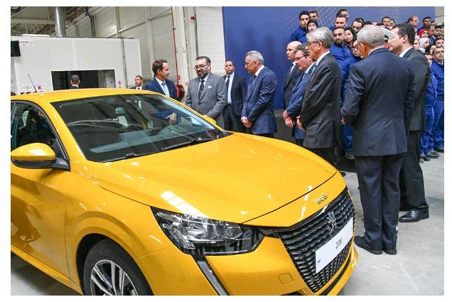 القنيطرة : جلالة المٓلك يُدشن أكبر مصنع لسيارات