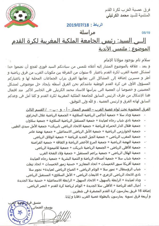 تجديد الثقة في محمد الكرتيلي