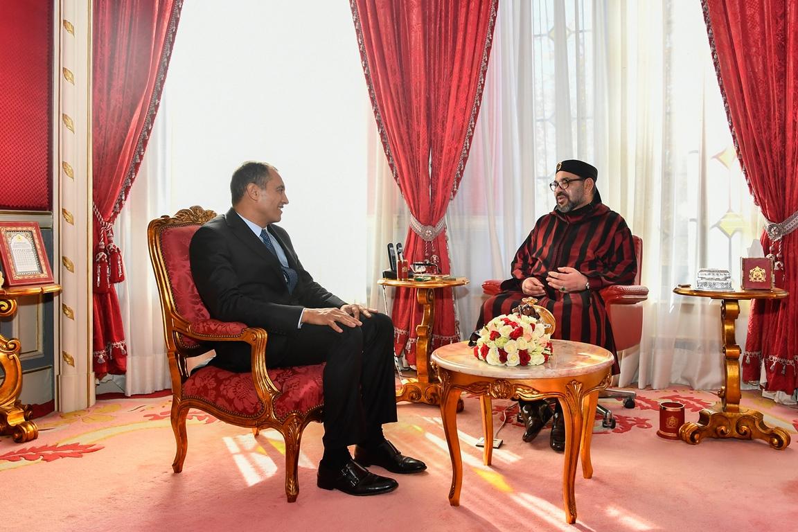 أحمد الشامي يرفع تقريراً إلى جلالة الملك حول تكوين أساتذة التعاقد