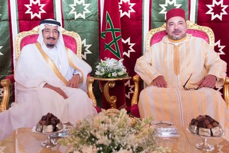 جلالة الملك محمد السادس يعزي العاهل السعودي في وفاة أخيه الأمير متعب بن عبد العزيز